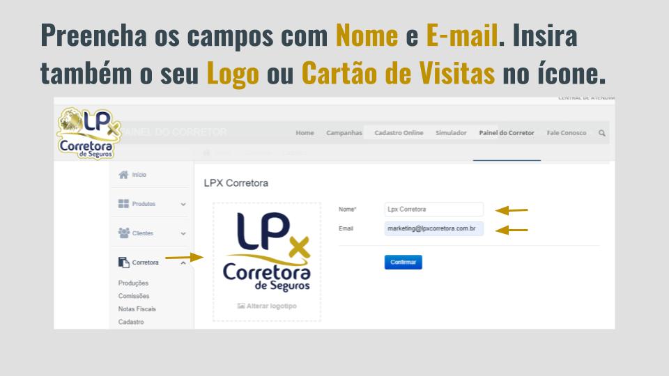 2. Como personalizar o Portal do Corretor com os seus dados e identidade visual (2)